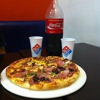 Photo taken at Domino's Pizza by Leonardo M. on 5/7/2012