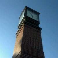 Photo taken at OPSU Clocktower by Nick T. on 9/30/2011