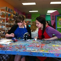Photo taken at Painting Fun Spot by Laura H. on 4/7/2012