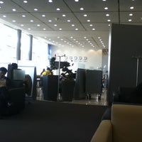 Photo taken at Lufthansa Business Lounge by Markus E. on 9/20/2011