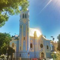 Photo taken at Kostol sv. Alžbety (The Blue Church) by Ignacio S. on 5/9/2012