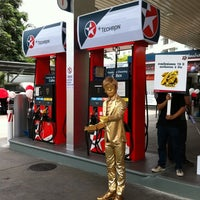 Photo taken at Caltex by vick on 4/27/2011