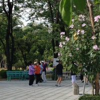 Photo taken at Khlong Chan Botanical Park by North on 6/9/2012