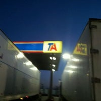 Photo taken at TravelCenters of America by Robby P. on 3/29/2012