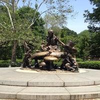Photo taken at Alice in Wonderland Statue by highwind on 5/28/2012