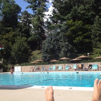 Photo taken at The Towers Pool by Jordan on 8/18/2012
