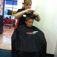 Photo taken at Sport Clips Haircuts of Wheaton by Nancy T. on 5/2/2012