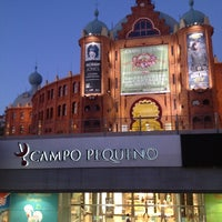 Photo taken at Centro Comercial do Campo Pequeno by Ricardo M. on 7/6/2012
