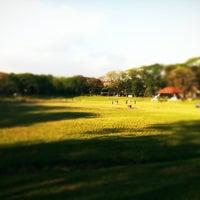 Photo taken at Sunken Garden by Supergirl on 2/25/2012