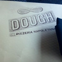 Photo taken at DOUGH Pizzeria Napoletana by Jenika P. on 5/11/2012