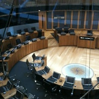 Photo taken at The National Assembly for Wales by Martyn C. on 4/15/2012