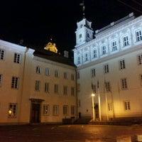Photo taken at Vilniaus universiteto Filologijos fakultetas by Ömer Fadıl U. on 3/17/2012