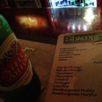 Photo taken at Shamrock Irish Pub by Caro M. V. on 3/31/2012