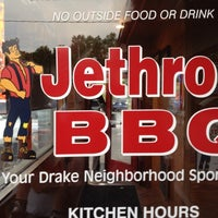 Photo taken at Jethro's BBQ by Frank J. on 8/12/2012