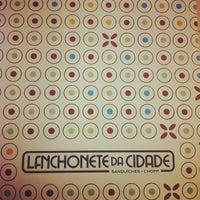 Photo taken at Lanchonete da Cidade by Luciano S. on 3/14/2012