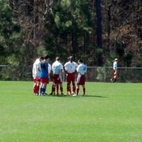 Photo taken at WakeMed Soccer Park by Lorrie M. on 3/10/2012