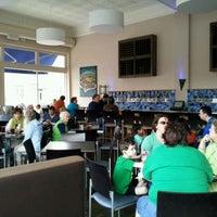 Photo taken at Square Burger by Doug C. on 3/17/2012