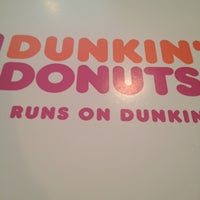 Photo taken at Dunkin' Donuts by Juliette H. on 7/10/2012