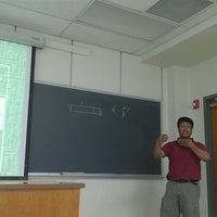 Photo taken at Physics Building by Adrian M. on 6/28/2012