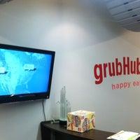 Photo taken at GrubHub.com World Headquarters by Allen P. on 4/5/2012