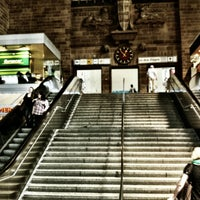 Photo taken at Stuttgart Hauptbahnhof by Raimund V. on 8/18/2012