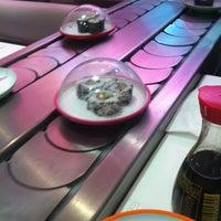 Photo taken at Pink Sushiman by David A. on 1/22/2012