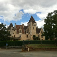 Photo taken at Château des Milandes by Benny I. on 8/27/2011