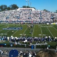 Photo taken at Foreman Field at S.B. Ballard Stadium by Mark H. on 10/16/2011
