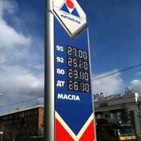 Photo taken at АЗС Магнат-РД №24 by ♐ uıʞlǝɹʇs on 4/18/2012