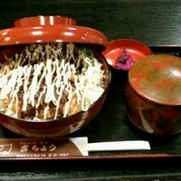 Photo taken at とんかつ そば 吉ちょう by kabe n. on 11/28/2011
