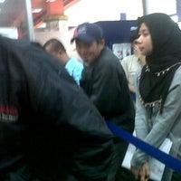 Photo taken at Bank Mandiri Halim PK by kenon r. on 4/5/2012