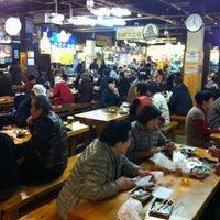 Photo taken at Hirome Ichiba by ICHIRO F. on 2/17/2012