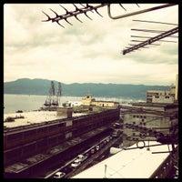 Photo taken at Rijeka Harbour by Mirta on 6/9/2012