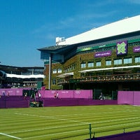 Photo taken at The All England Lawn Tennis Club by Dávid S. on 7/25/2012
