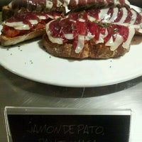 Photo taken at Juana la Loca Pintxos-Bar by Elisabeth G. on 12/26/2011