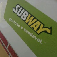 Photo taken at Subway by Guilherme T. on 1/25/2012