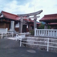 Photo taken at 美栄神社 by Hiroo T. on 10/16/2011
