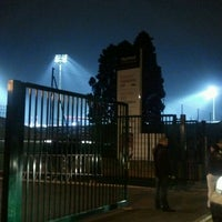 Photo taken at Matmut Stadium by LOU Rugby R. on 11/19/2011
