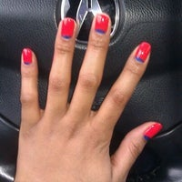 Photo taken at Polished Nail Salon by Adrian C. on 3/7/2012