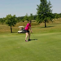 Photo taken at Airport Greens Golf Course by Jeannie J. on 6/10/2012
