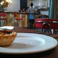 Photo taken at Brunswick House Cafe by Burhan A. on 10/22/2011