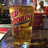 Photo taken at Red Robin Gourmet Burgers by Justin G. on 3/22/2011