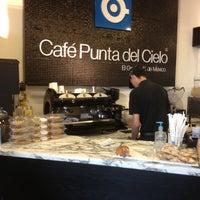 Photo taken at Cafe Punta del Cielo by ANTONIO T. on 5/12/2012