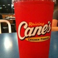 Photo taken at Raising Cane's Chicken Fingers by Erin B. on 5/19/2012