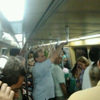 Photo taken at MetrôRio - Estação Carioca by Fabrício N. on 4/27/2012