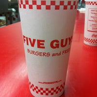 Photo taken at Five Guys by Kyle G. on 6/18/2012