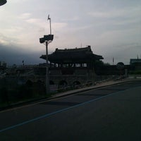 Photo taken at Hwahongmun (the North Floodgate) by Ian Moone on 8/2/2011