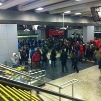 Photo taken at Metro Plaza de Maipú by Marcelo C. on 6/13/2012