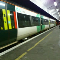 Photo taken at Eastbourne Railway Station (EBN) by Richard E. on 9/23/2011