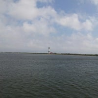 Photo taken at Captree State Park Bay by Mike W. on 9/8/2012